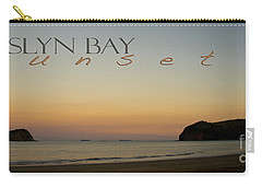 Carry-all Pouch featuring the photograph Rosslyn Bay Sunset by Vicki Ferrari