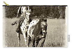 Carry-all Pouch featuring the photograph Round-up by Jerry Fornarotto