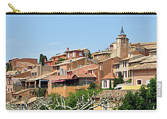 Carry-all Pouch featuring the photograph Roussillon In Provence by Carla Parris