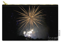 Carry-all Pouch featuring the photograph Rvr Fireworks 1 by Mark Dodd