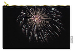 Carry-all Pouch featuring the photograph Rvr Fireworks 10 by Mark Dodd