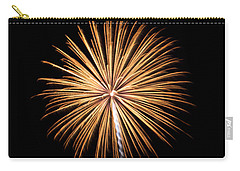 Carry-all Pouch featuring the photograph Rvr Fireworks 27 by Mark Dodd