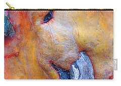 Carry-all Pouch featuring the digital art Sacred by Richard Laeton