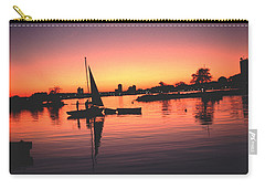 Sailing End Of The Day Backbay  Boston Carry-all Pouch