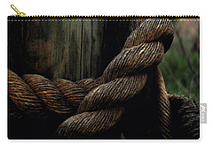 Sailor's Rope Carry-all Pouch by Karen Harrison