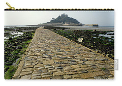 Carry-all Pouch featuring the photograph Saint Michael's Mount by Lainie Wrightson