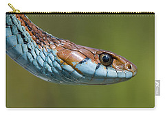 San Francisco Garter Snake Portrait Carry-all Pouch