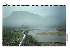 Sand Beach Fog Carry-all Pouch by Brent L Ander