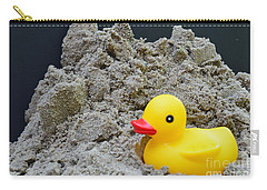 Sand Pile And Ducky Carry-all Pouch