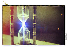 Sand Through Hourglass Carry-all Pouch