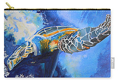 Save The Turtles Carry-all Pouch