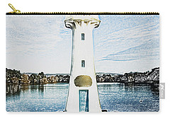 Carry-all Pouch featuring the photograph Scott Memorial Roath Park Cardiff 3 by Steve Purnell