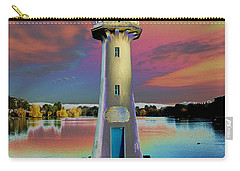 Carry-all Pouch featuring the photograph Scott Memorial Roath Park Cardiff 4 by Steve Purnell