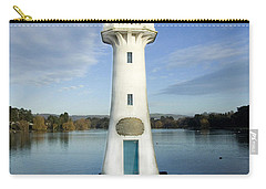 Carry-all Pouch featuring the photograph Scott Memorial Roath Park Cardiff by Steve Purnell