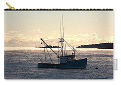 Sea-smoke On The Harbor Carry-all Pouch