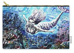 Carry-all Pouch featuring the painting Sea Surrender by Shana Rowe Jackson