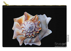 Carry-all Pouch featuring the photograph Seashell 1 by Deniece Platt