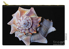 Carry-all Pouch featuring the photograph Seashell 5 by Deniece Platt