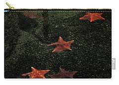 Seastars Carry-all Pouch by Karen Harrison