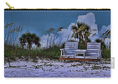Seat On The Dunes Carry-all Pouch