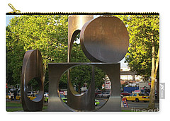 Seattle Sculpture Carry-all Pouch by Chalet Roome-Rigdon