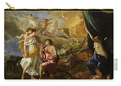Selene And Endymion Carry-all Pouch by Nicolas Poussin