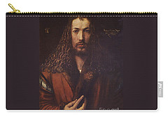 Self Portrait  Durer Carry-all Pouch by Pg Reproductions