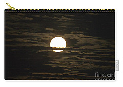 Carry-all Pouch featuring the photograph Seneca Lake Moon by William Norton