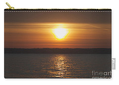 Carry-all Pouch featuring the photograph Seneca Lake Sunrise by William Norton