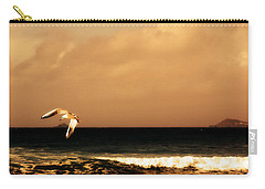 Sennen Seagull Carry-all Pouch by Linsey Williams