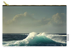 Sennen Surf Seascape Carry-all Pouch by Linsey Williams
