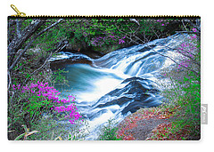 Serenity Flowing Carry-all Pouch by Jonah  Anderson