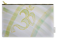 Carry-all Pouch featuring the painting Serenity by Sonali Gangane