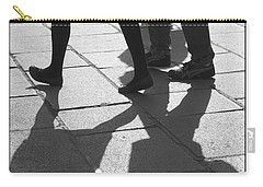 Carry-all Pouch featuring the photograph Shadow People by Victoria Harrington