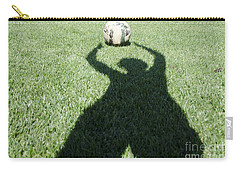 Shadow Playing Football Carry-all Pouch