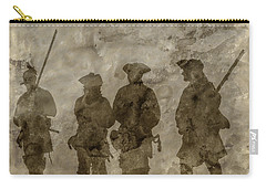 Shadows Of The French And Indian War Carry-all Pouch by Randy Steele