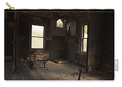 Carry-all Pouch featuring the photograph Shadows Of Time by Fran Riley