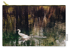 Carry-all Pouch featuring the photograph Shadowwaters by Lydia Holly