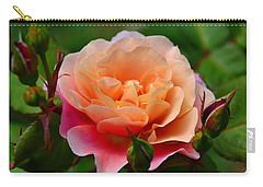 Sherbet Rose Carry-all Pouch