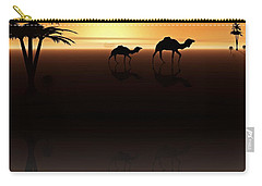 Ships Of The Desert Carry-all Pouch