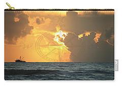 Shrimp Boast Sunrise II Carry-all Pouch