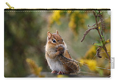 Shy Little Chipmunk Carry-all Pouch