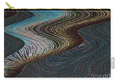 Carry-all Pouch featuring the photograph Silver Bay by Ausra Huntington nee Paulauskaite