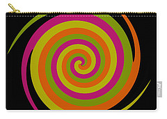 Carry-all Pouch featuring the photograph Six Squared With A Twirl by Steve Purnell