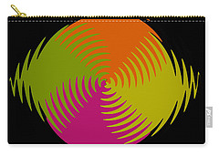 Carry-all Pouch featuring the photograph Six Squared Zigzag by Steve Purnell