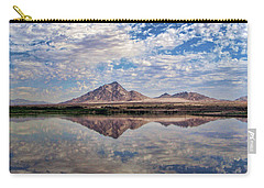 Carry-all Pouch featuring the photograph Skies Illusion by Tammy Espino