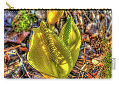 Skunk Cabbage - 2 Carry-all Pouch by Rod Wiens