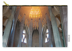 Skylight At Gaudi Cathedral Carry-all Pouch