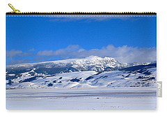 Carry-all Pouch featuring the photograph Sleeping Indian by Eric Tressler