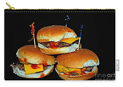 Carry-all Pouch featuring the photograph Sliders by Cindy Manero